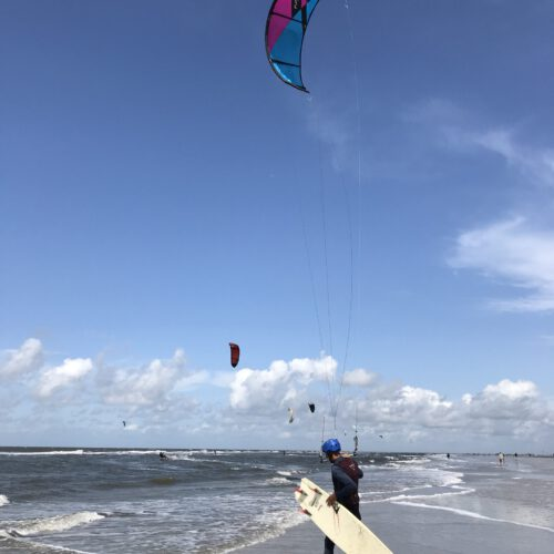 Kite-Surfern-Sankt-Peter-Ording